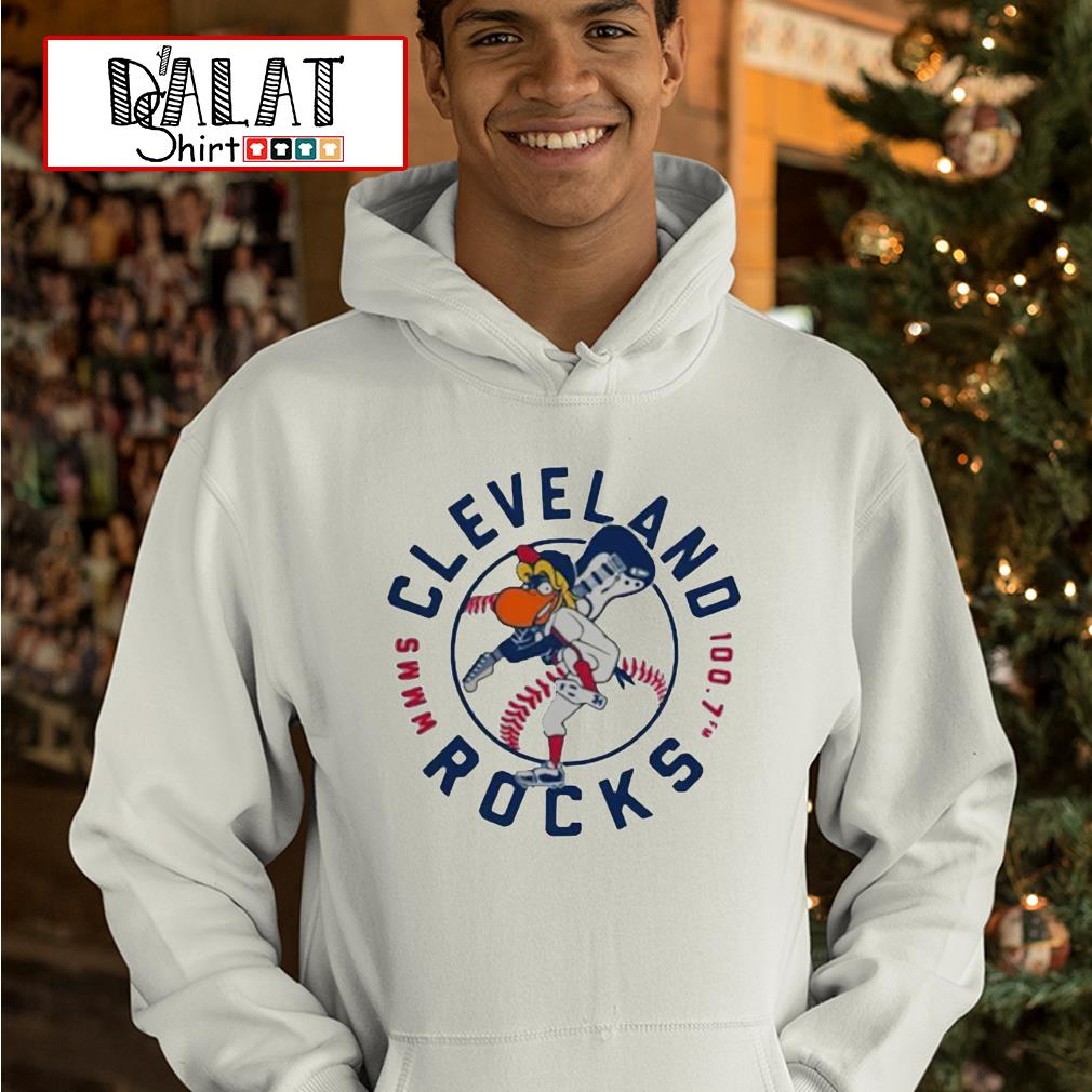 Cleveland Rocks baseball hoodie