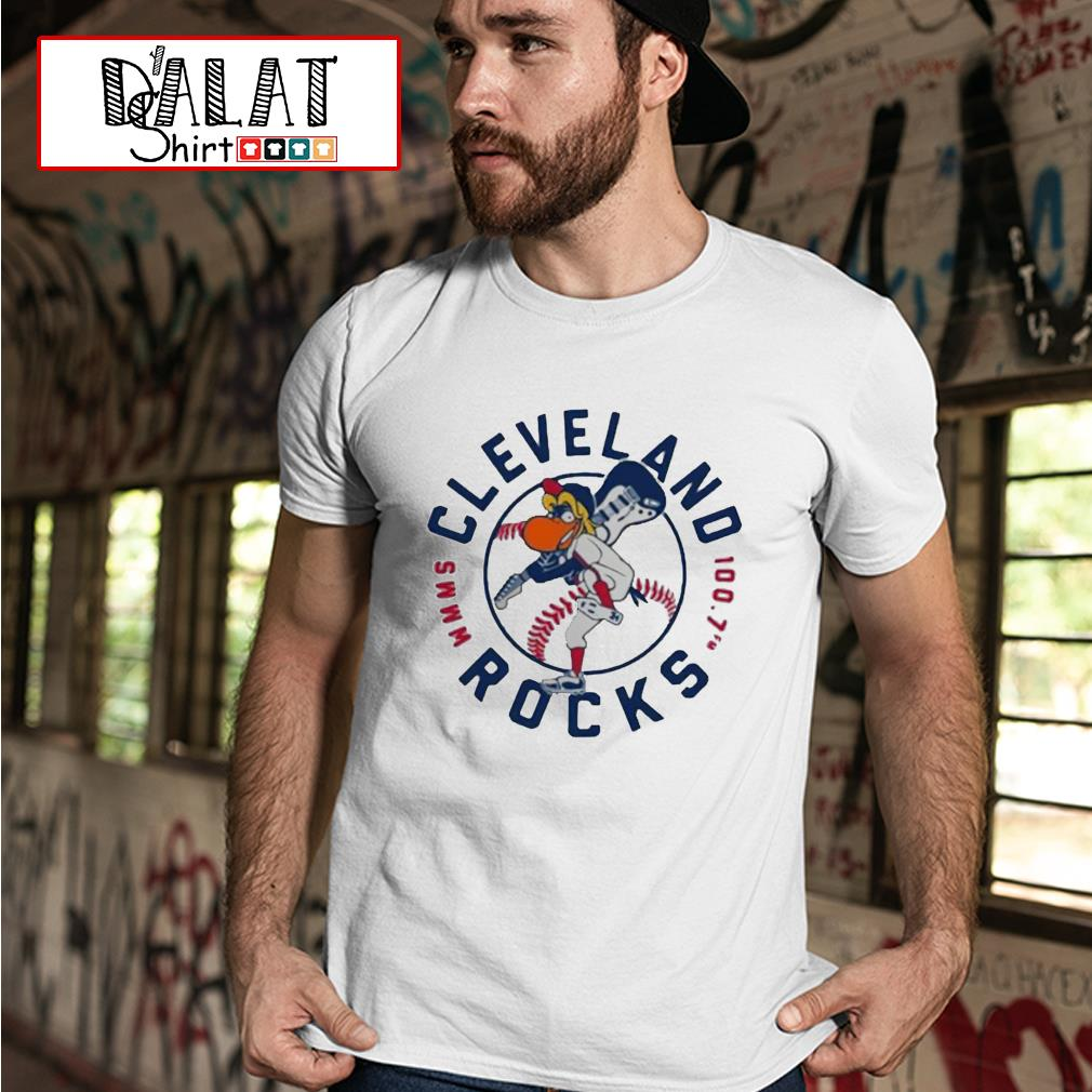 Cleveland Rocks baseball shirt