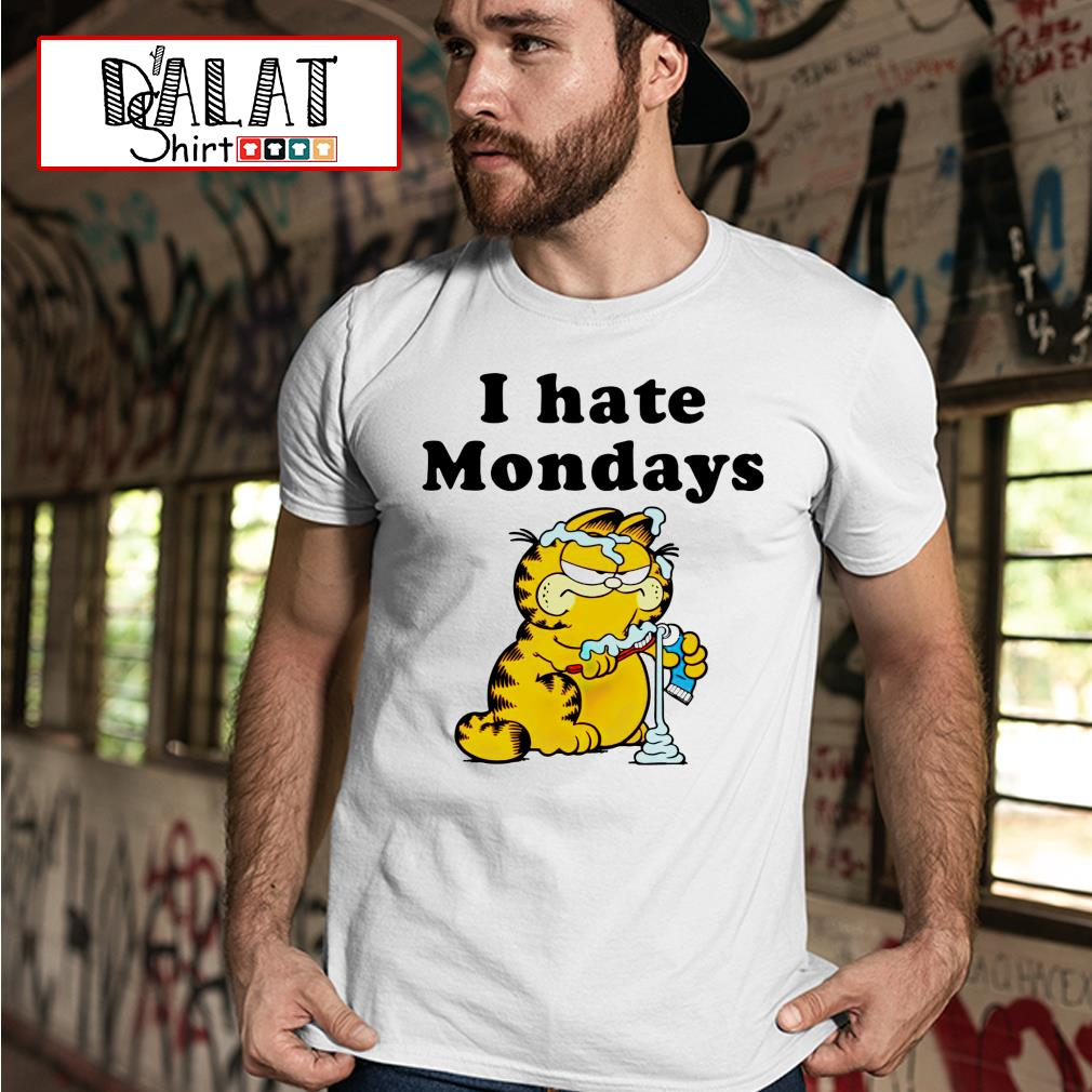 Garfield I hate mondays shirt