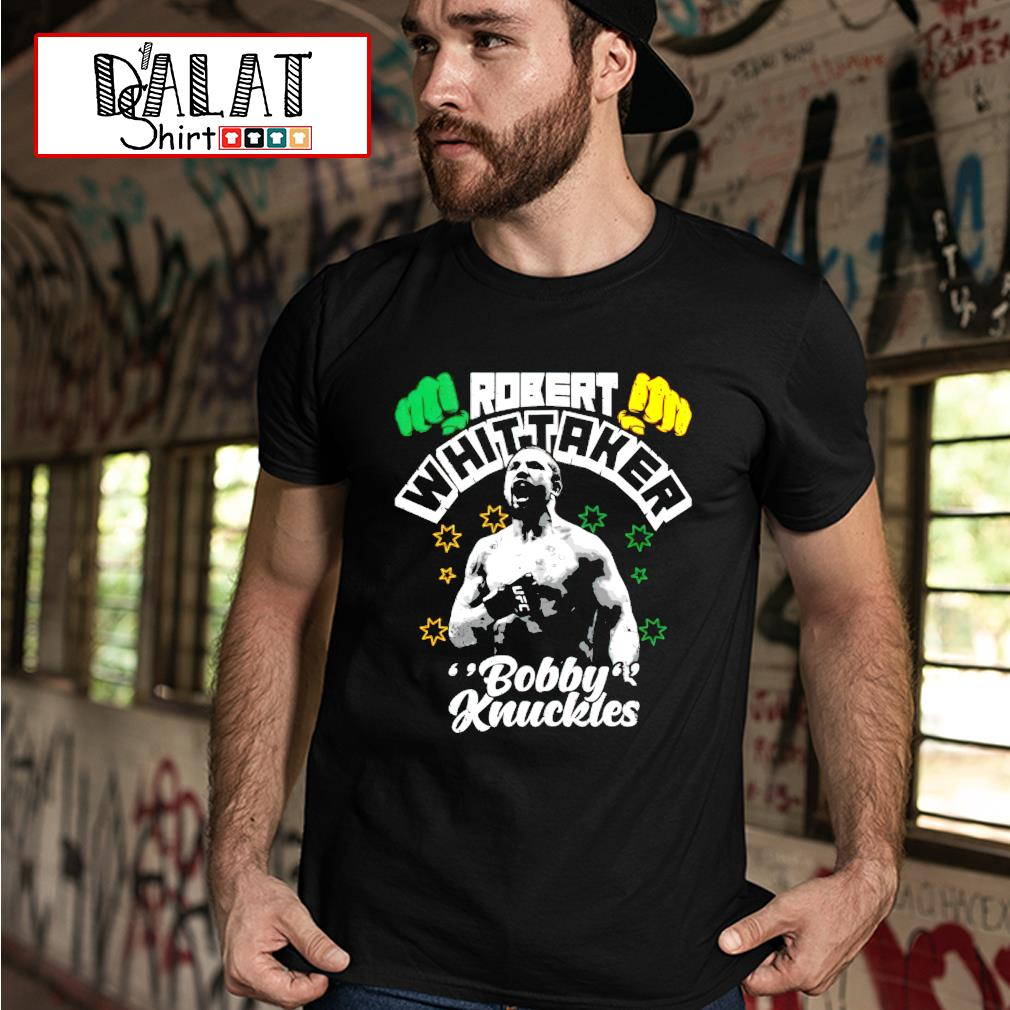 Robert whittaker Bobby Knuckles shirt