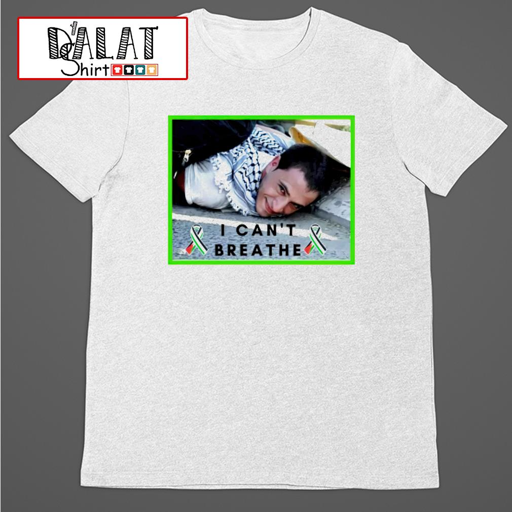 I can't breathe palestine shirt