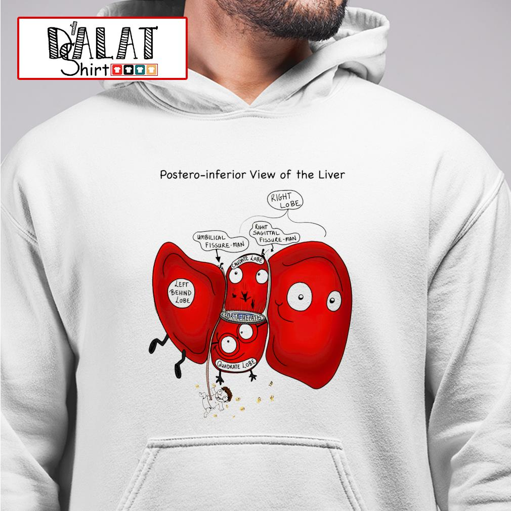 Posteroinferior view of the liver hoodie