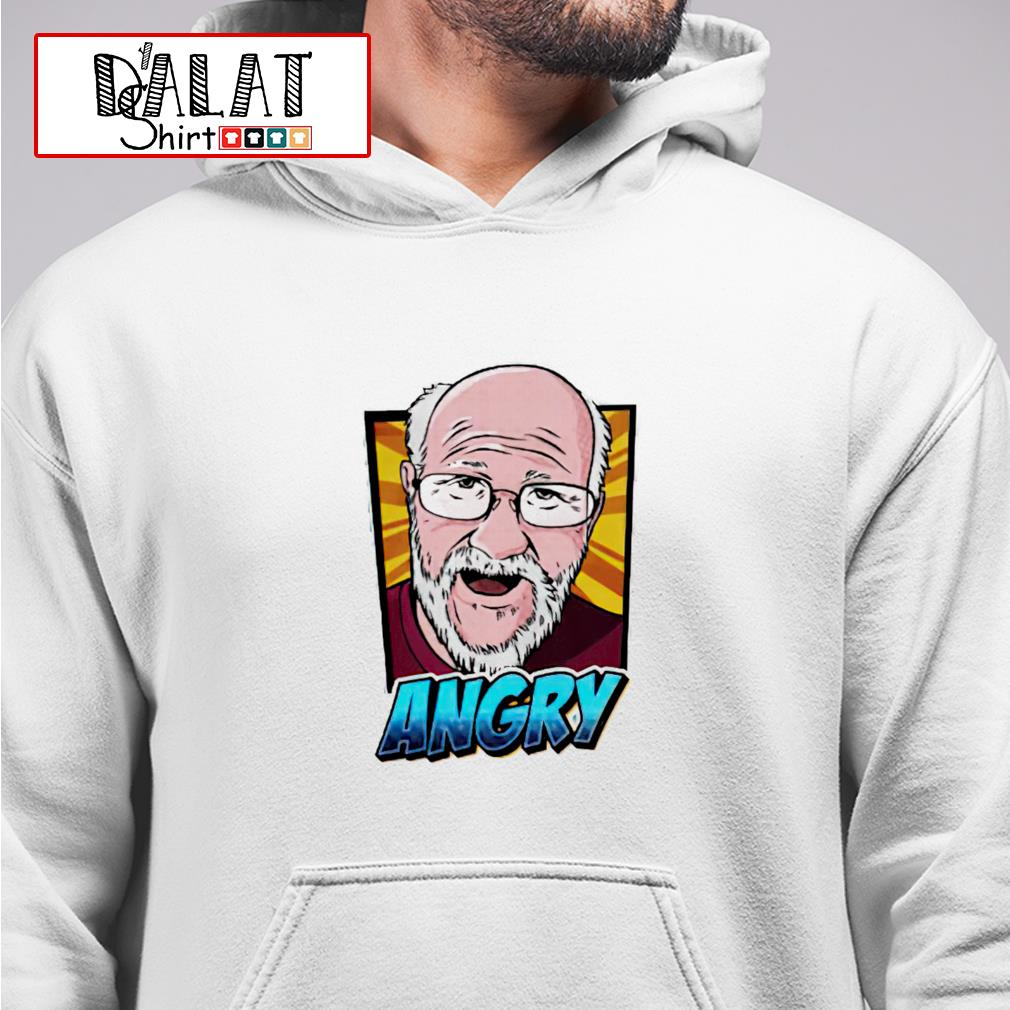 Angry Angry Grandpa hoodie