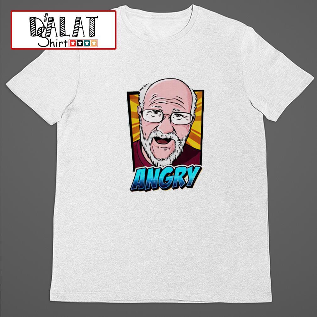 Angry Angry Grandpa shirt