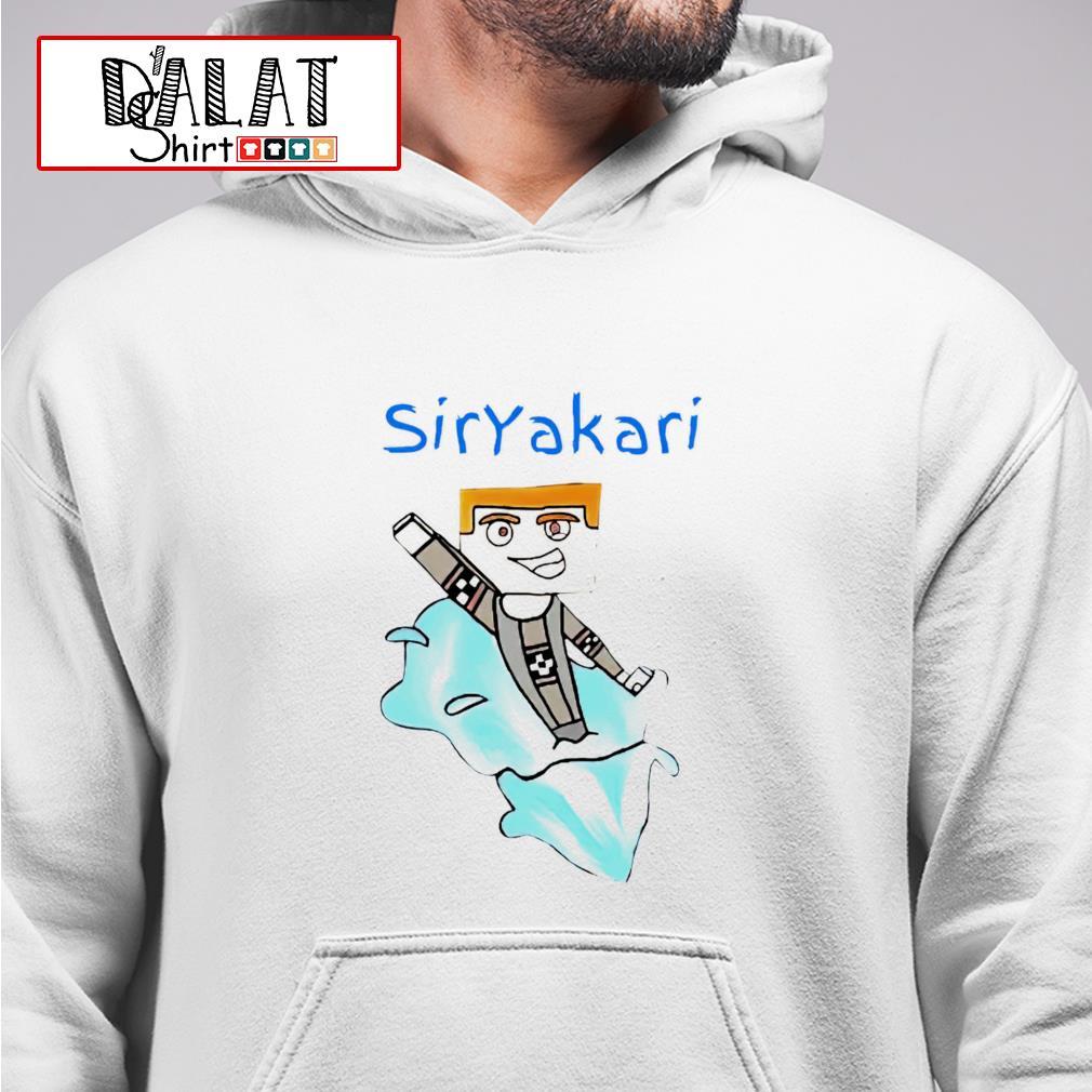 Siryakari cartoon hoodie