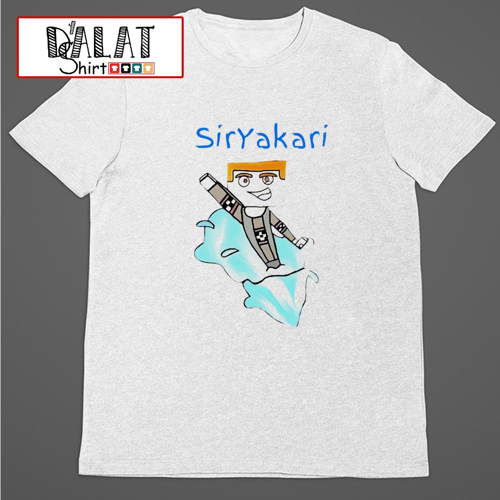 Siryakari cartoon shirt