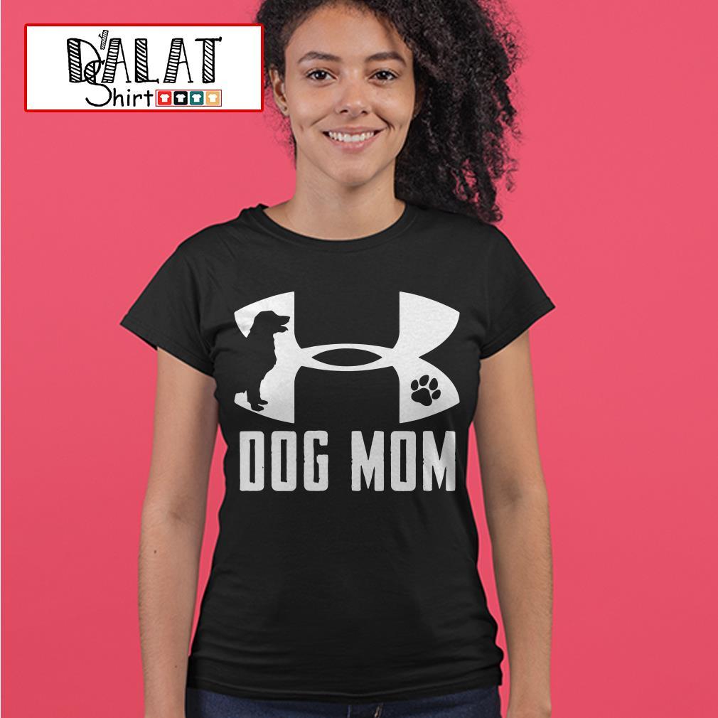 Under Armour dog mom Ladies tee