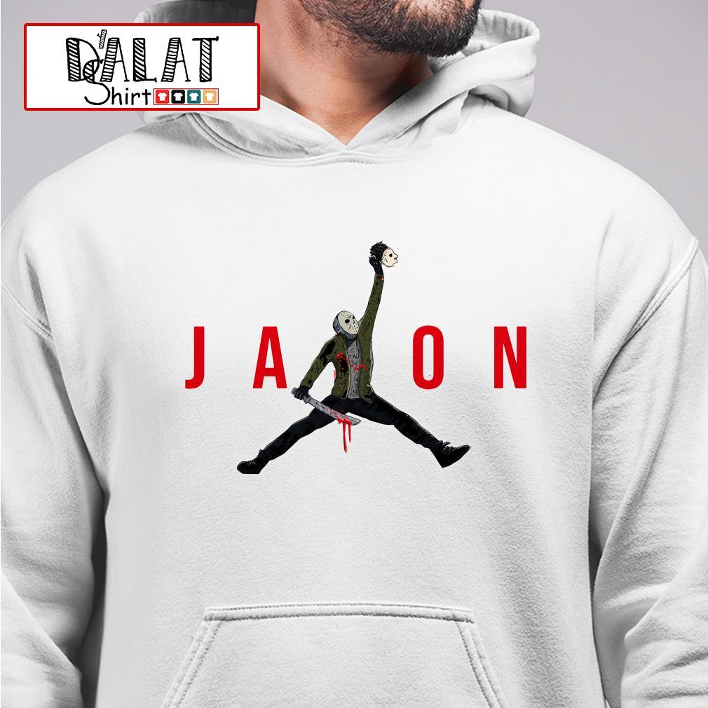 Jason Voorhees Air Jordan Hoodie