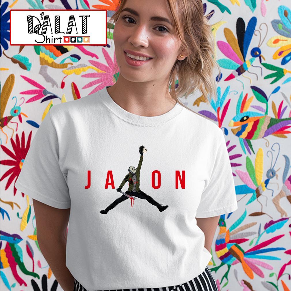 Jason Voorhees Air Jordan Ladies tee