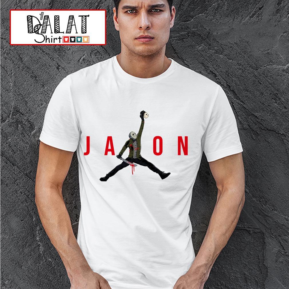 Jason Voorhees Air Jordan shirt