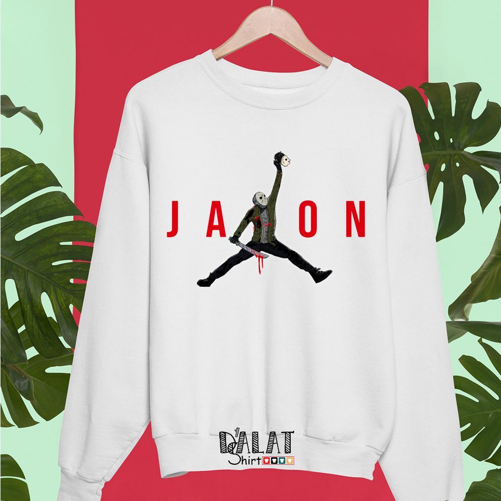 Jason Voorhees Air Jordan Sweater