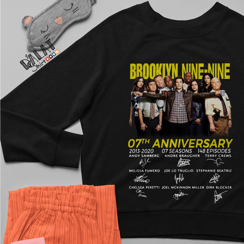 Brooklyn Nine-Nine 07th Anniversary signatures Sweater