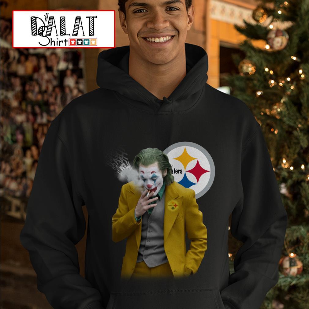 Joker Joaquin Phoenix Pittsburgh Steelers Hoodie