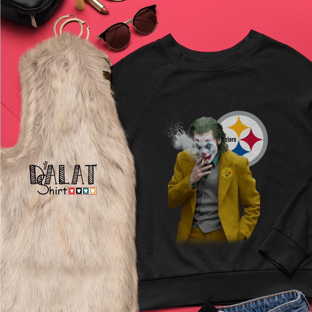 Joker Joaquin Phoenix Pittsburgh Steelers Sweater