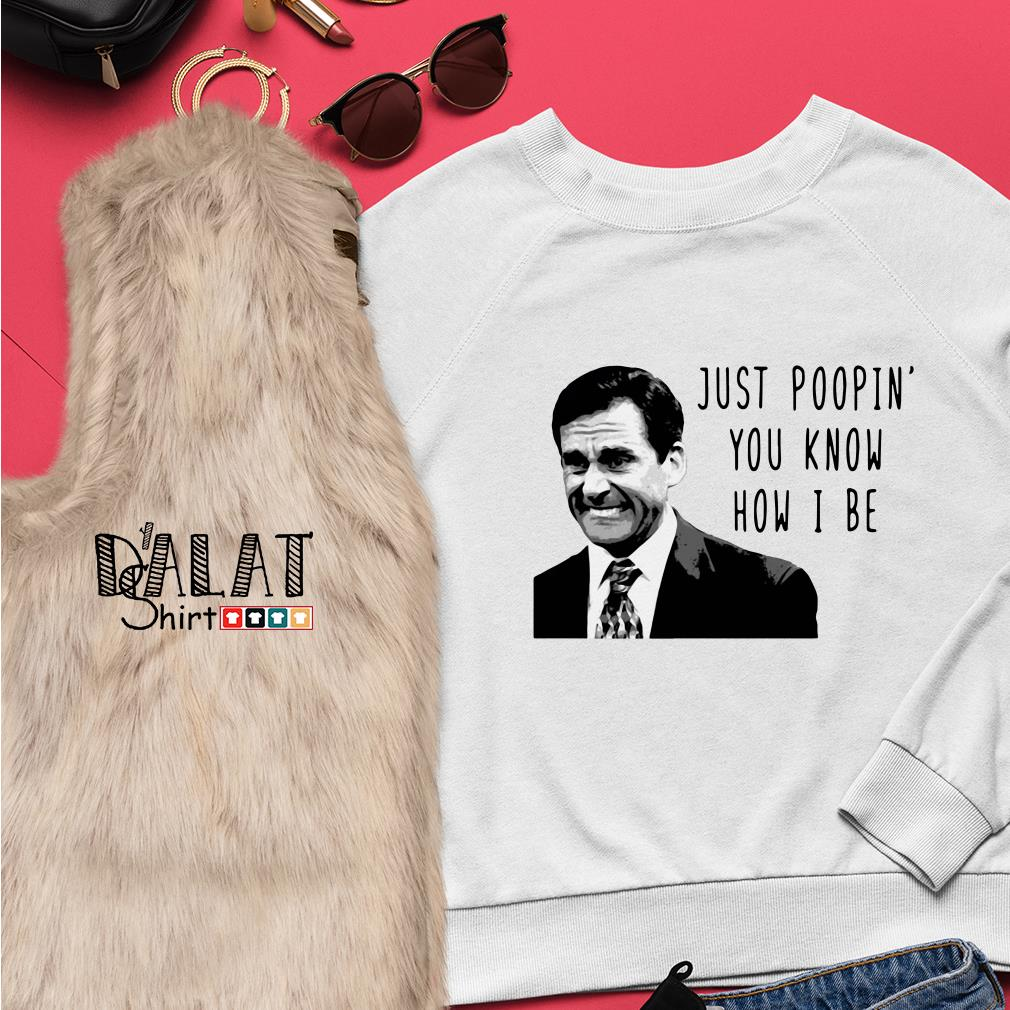 Michael Scott The Office Just Poopin You Know How I Be Sweater