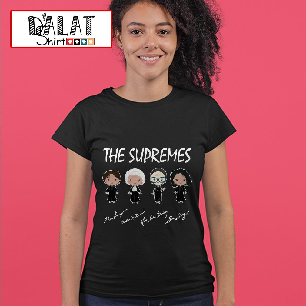 The Supremes Motown Records signature Ladies tee