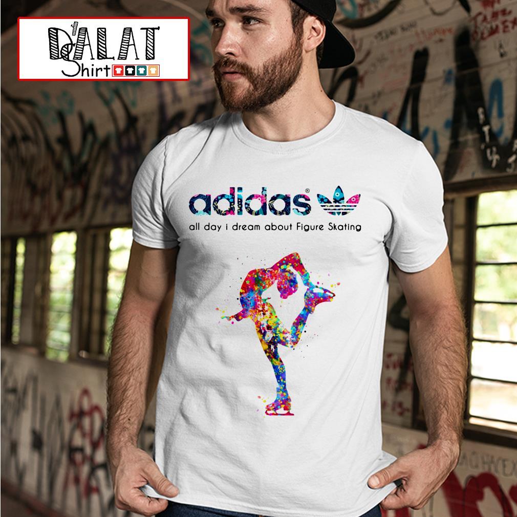 Adidas all day I dream Figure Skating shirt