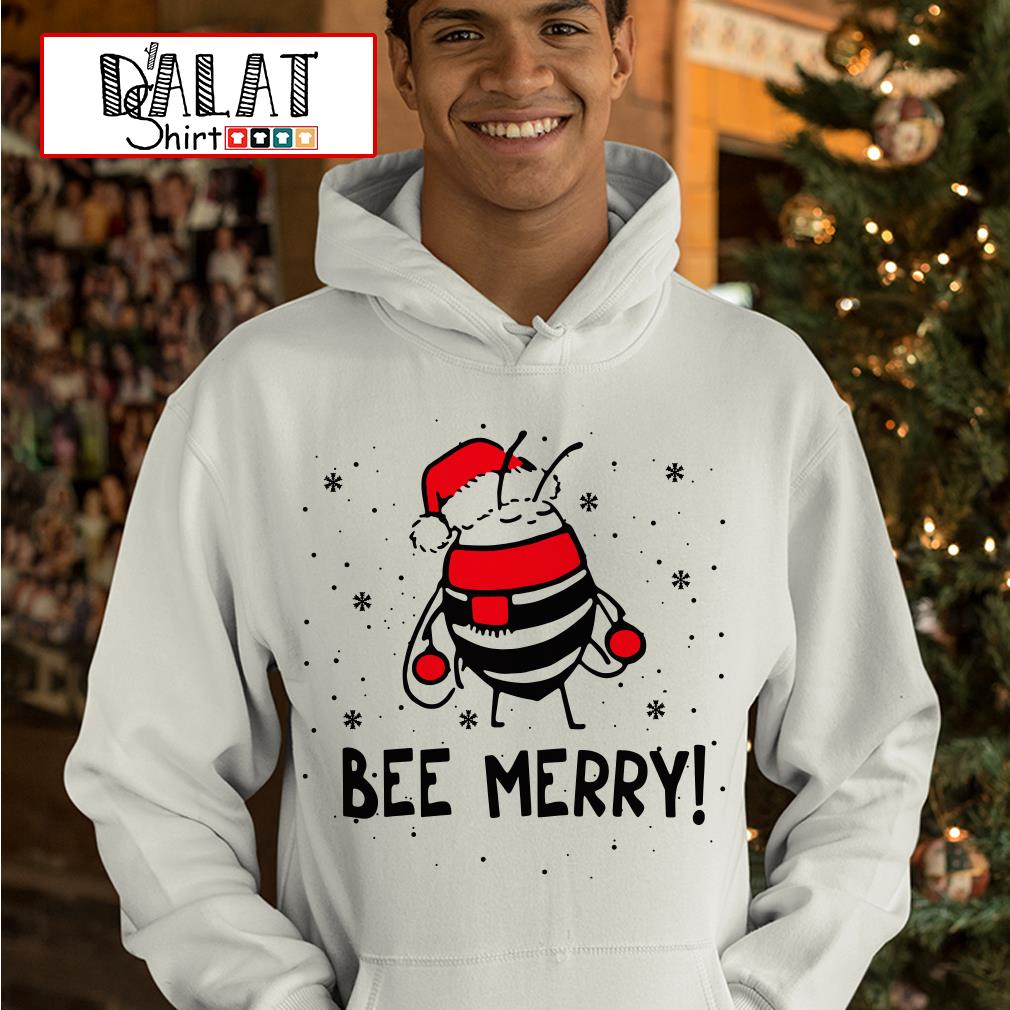 Bee Merry Christmas Hoodie