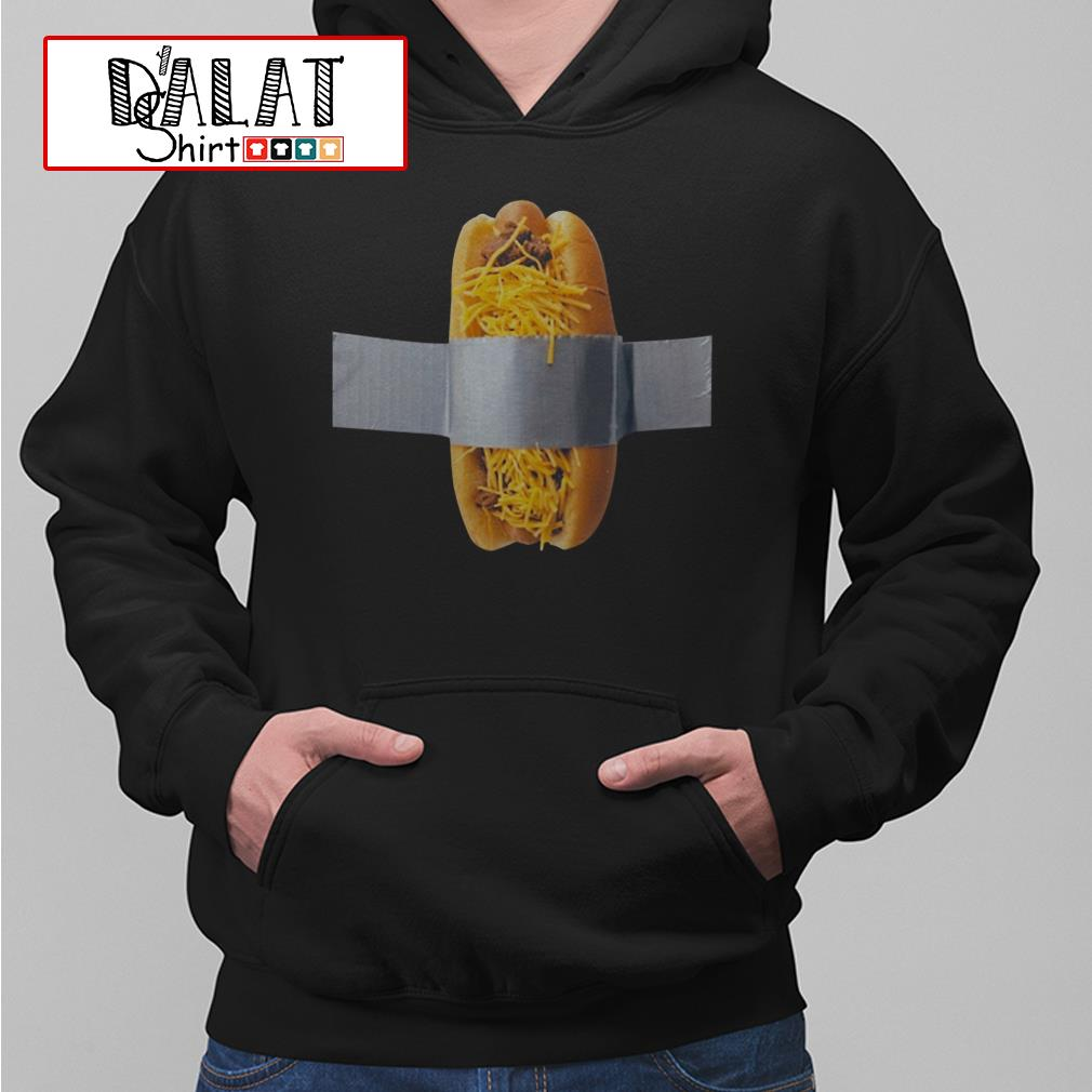 Duct taped cheese coney charity Hoodie