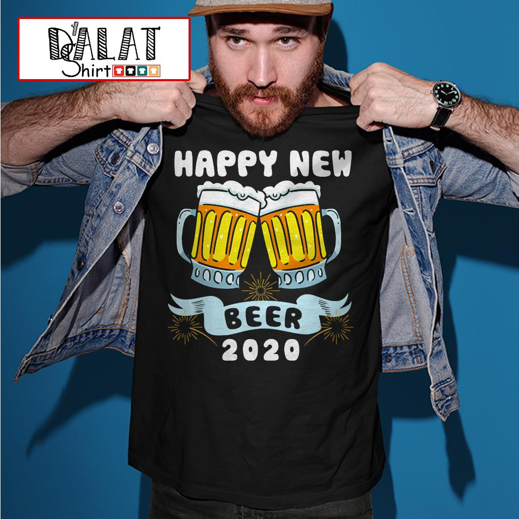 New Year Beer 2020 shirt