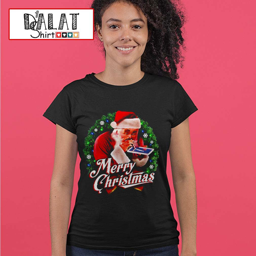 Saint Nicholas Day Merry Christmas Ladies tee