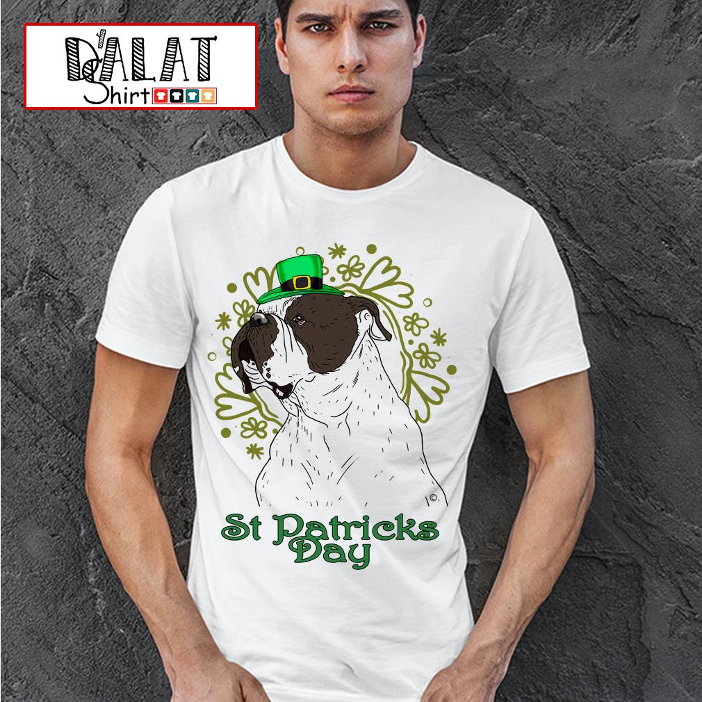 Bulldog St Patricks Day shirt