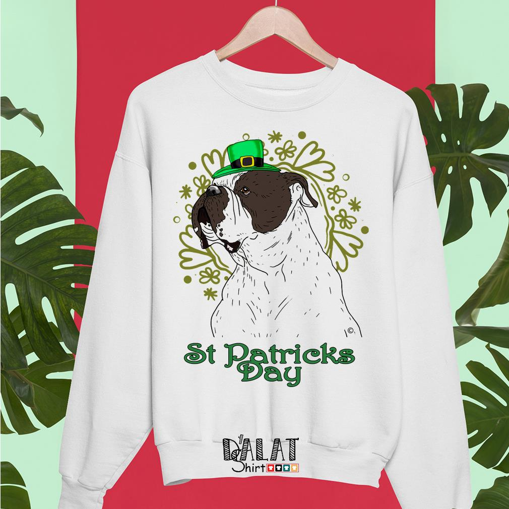 Bulldog St Patricks Day Sweater