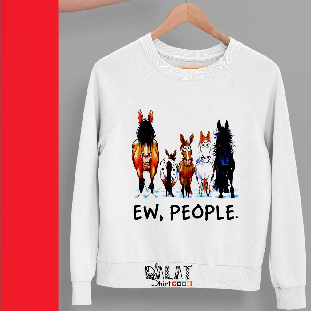 Horse Ew People Sweater