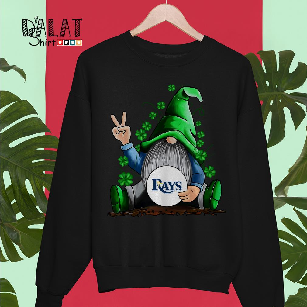 MLB Gnomes lucky hug Tampa Bay Rays baseball Sweater