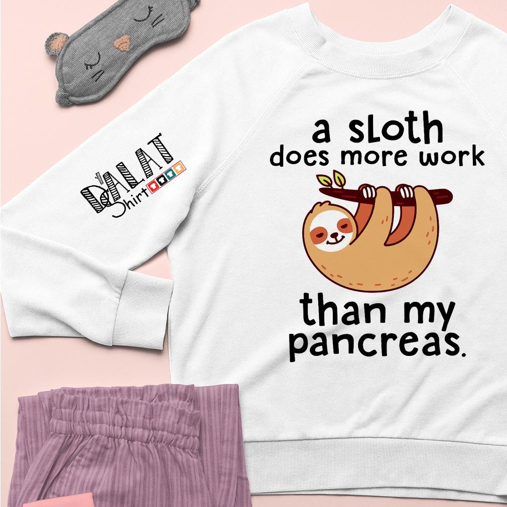A Sloth Does More Work Than My Pancreas Sweater