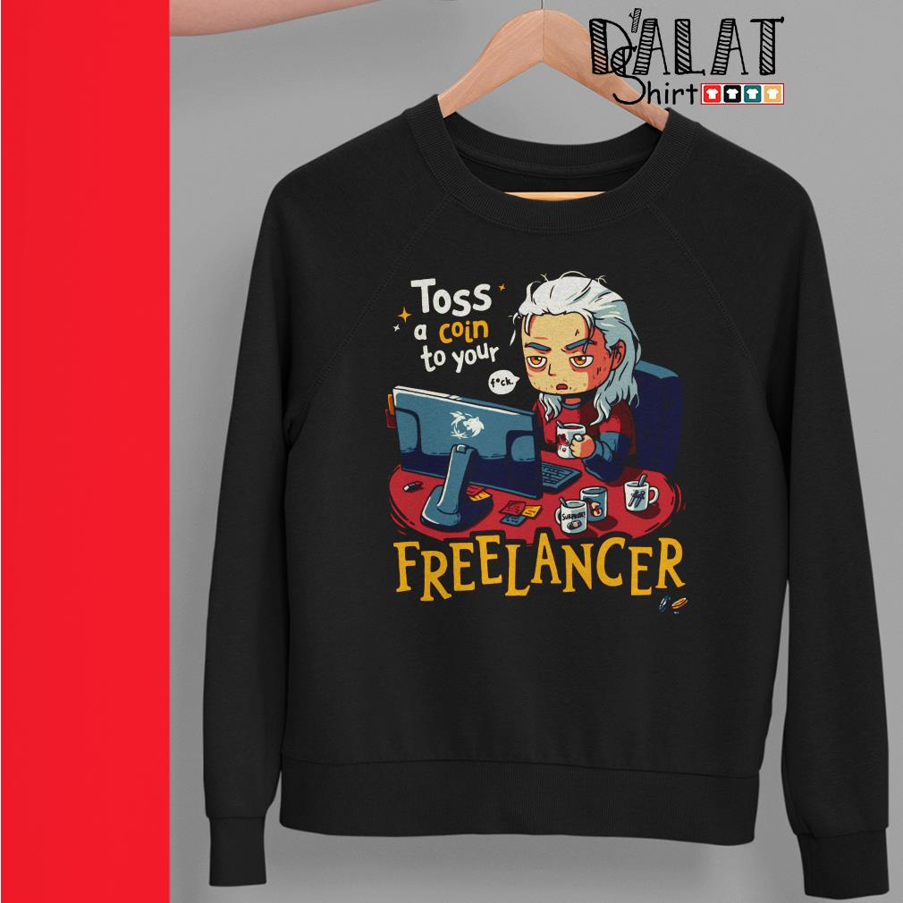 Toss a Coin to your Freelancer Sweater