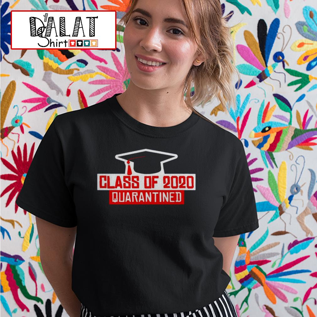 Class of 2020 quarantined Ladies tee