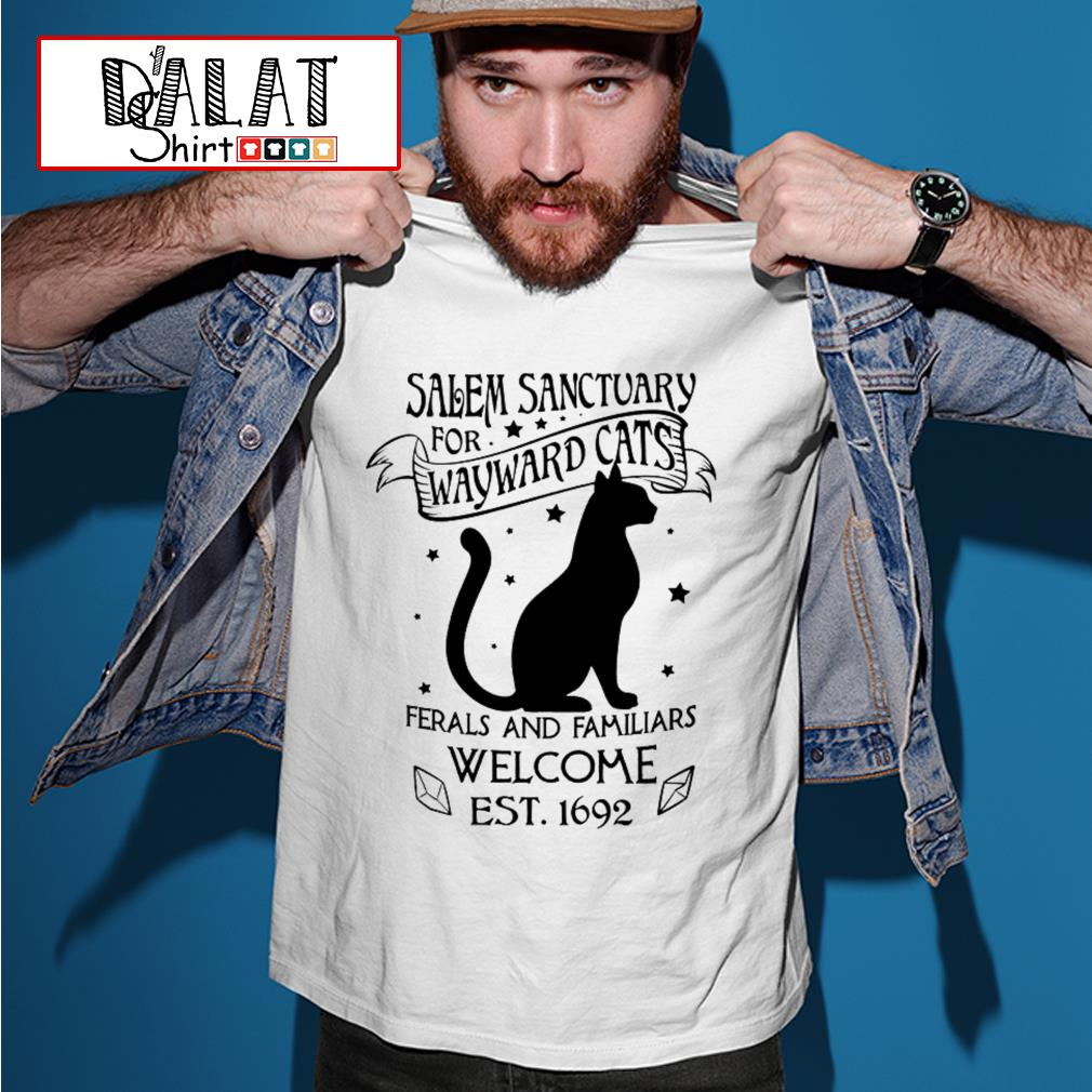Salem Sanctuary for wayward cats feral and familiars shirt