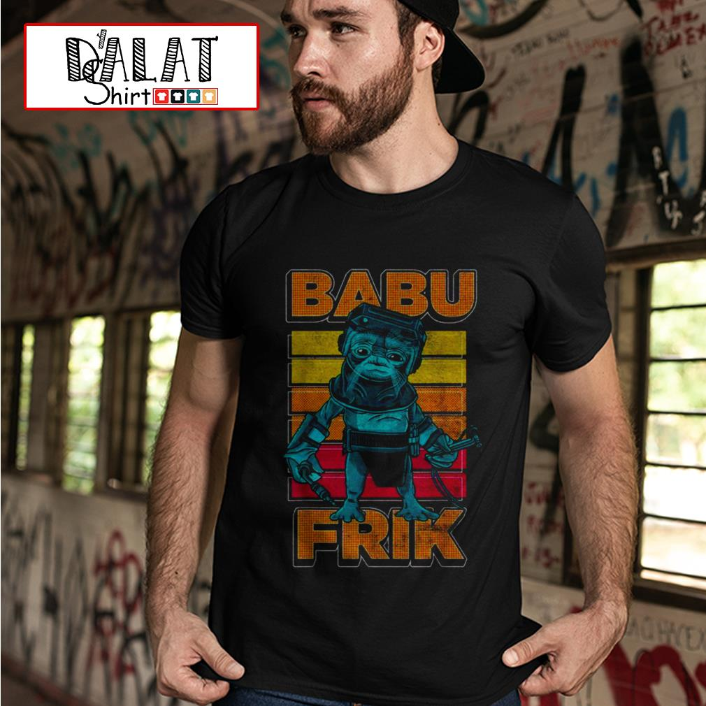 Star Wars the rise of Skywalker Babu Frik shirt