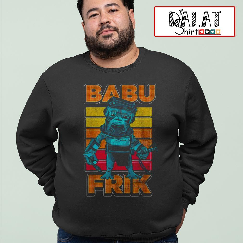 Star Wars the rise of Skywalker Babu Frik Sweater