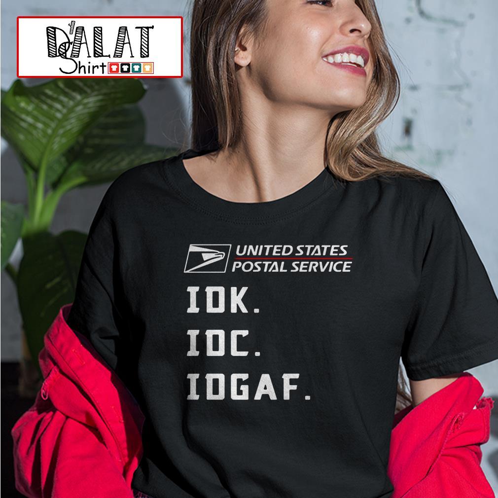 United States Postal Service idk idc idgaf Ladies tee