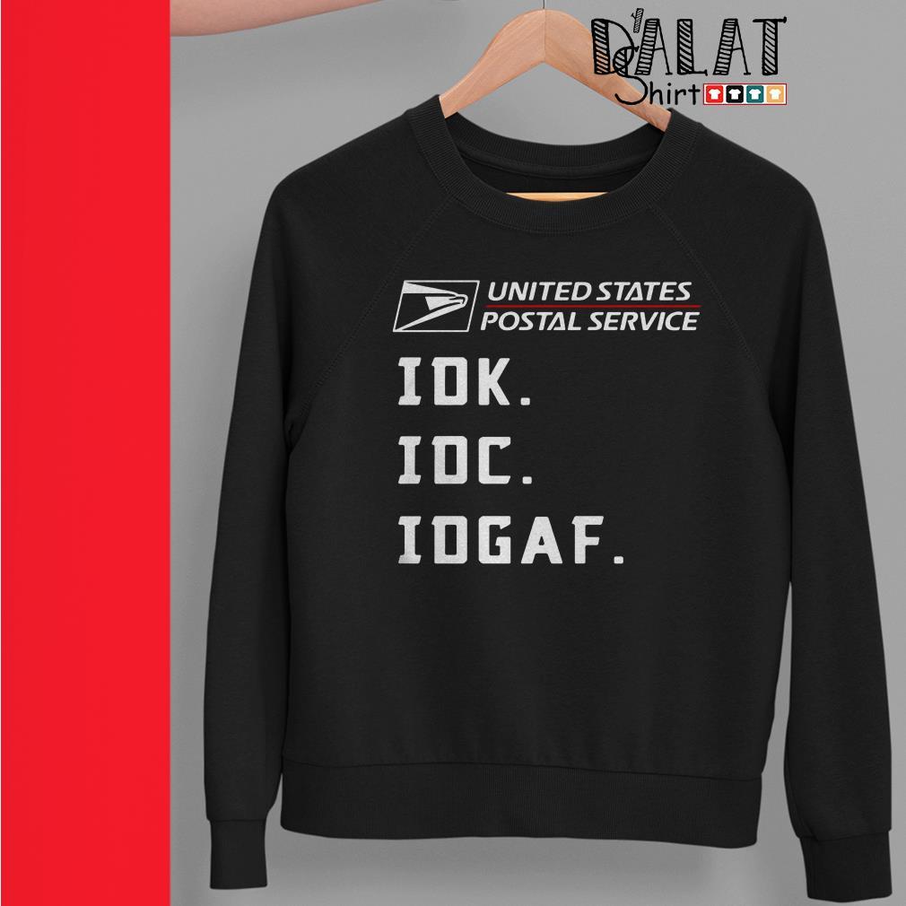 United States Postal Service idk idc idgaf Sweater