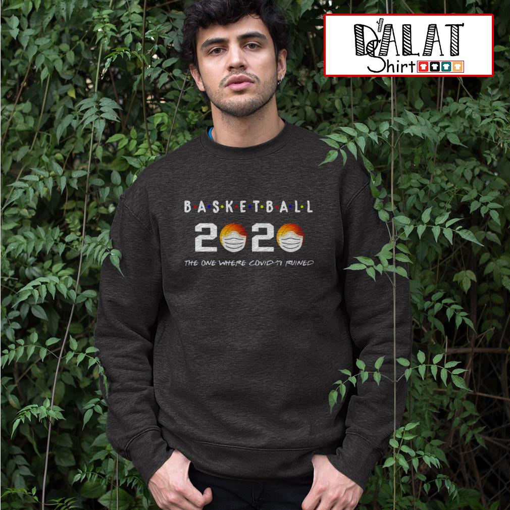 Basketball 2020 the one where covid-19 ruined Sweater