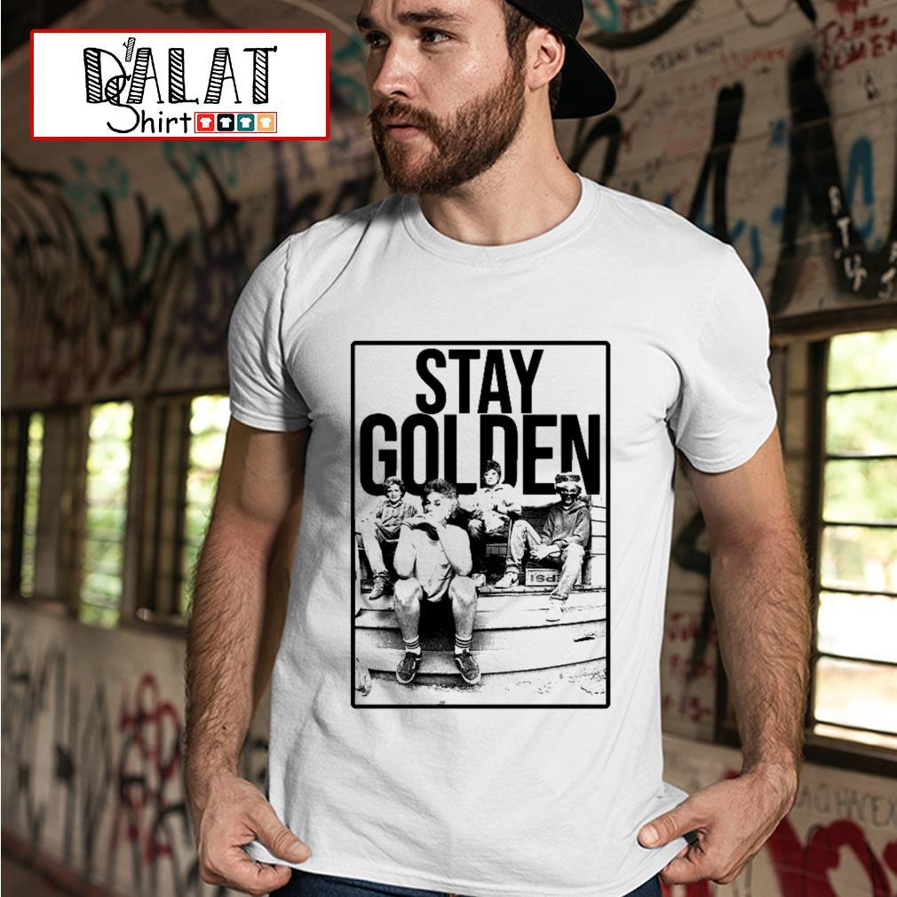 The Golden Girl mashup Minor Threat Stay Golden shirt