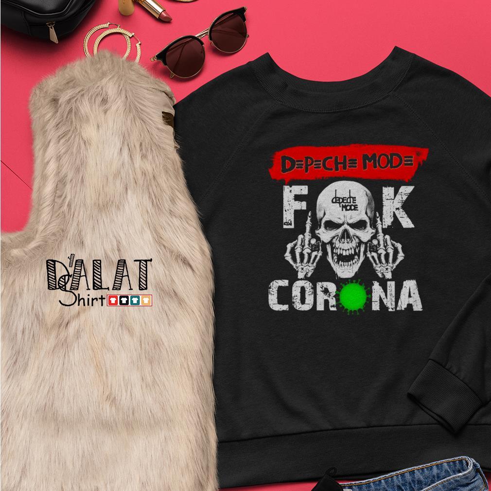 OFFICIAL Depeche Mode fuck Corona Sweater