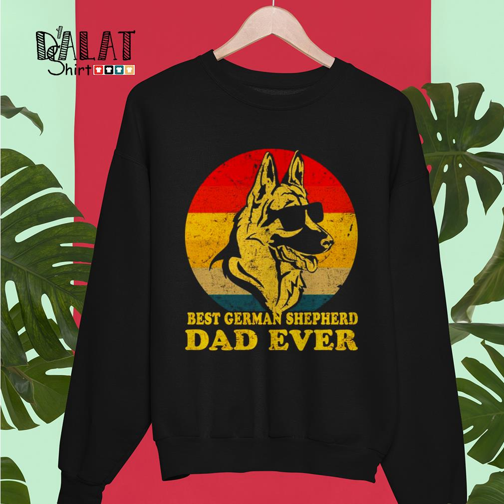 Best German Shepherd dad ever Sweater