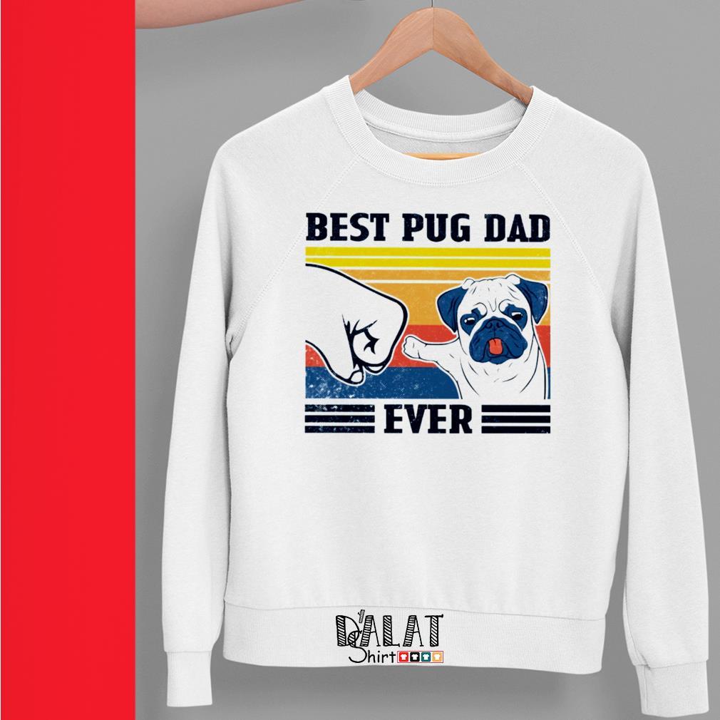 Best Pug dad ever vintage Sweater