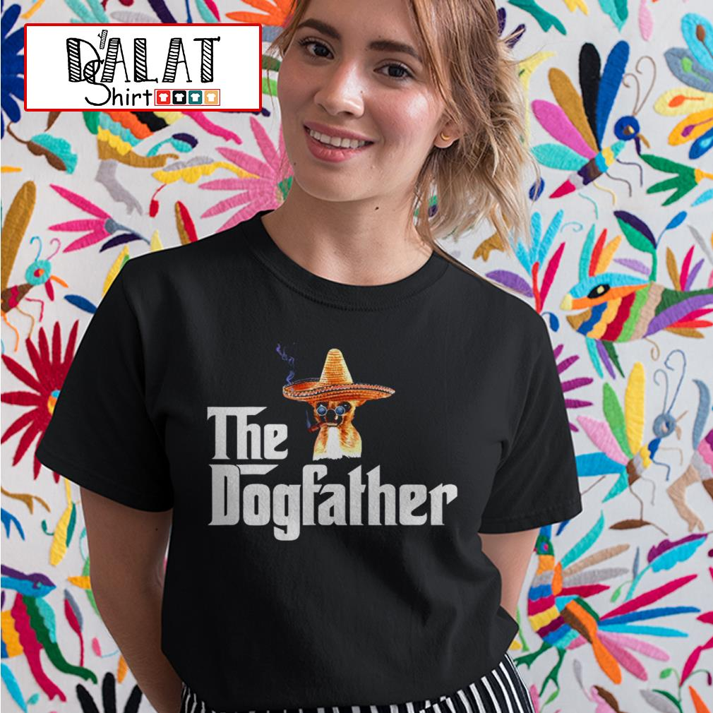 Chihuahua the Dogfather Ladies tee