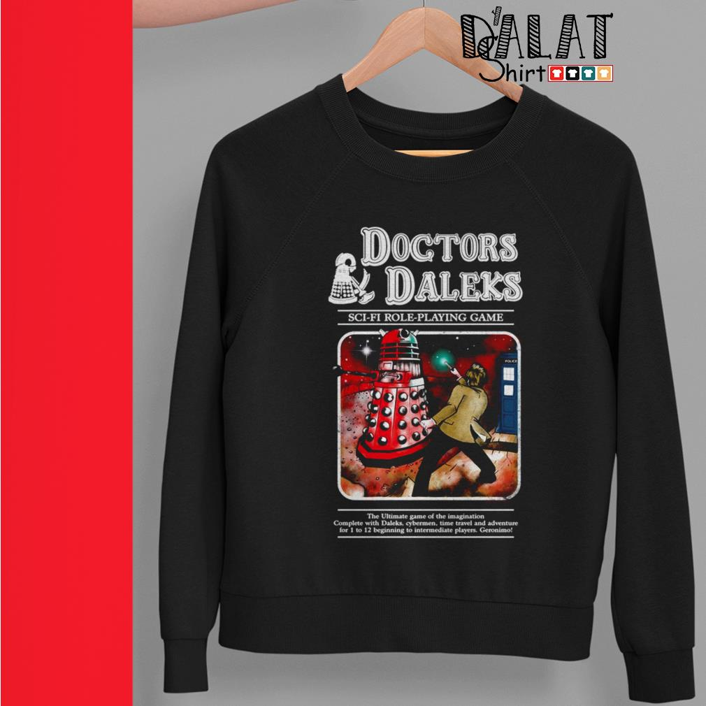 Doctors Daleks sci-fi role-playing game Sweater