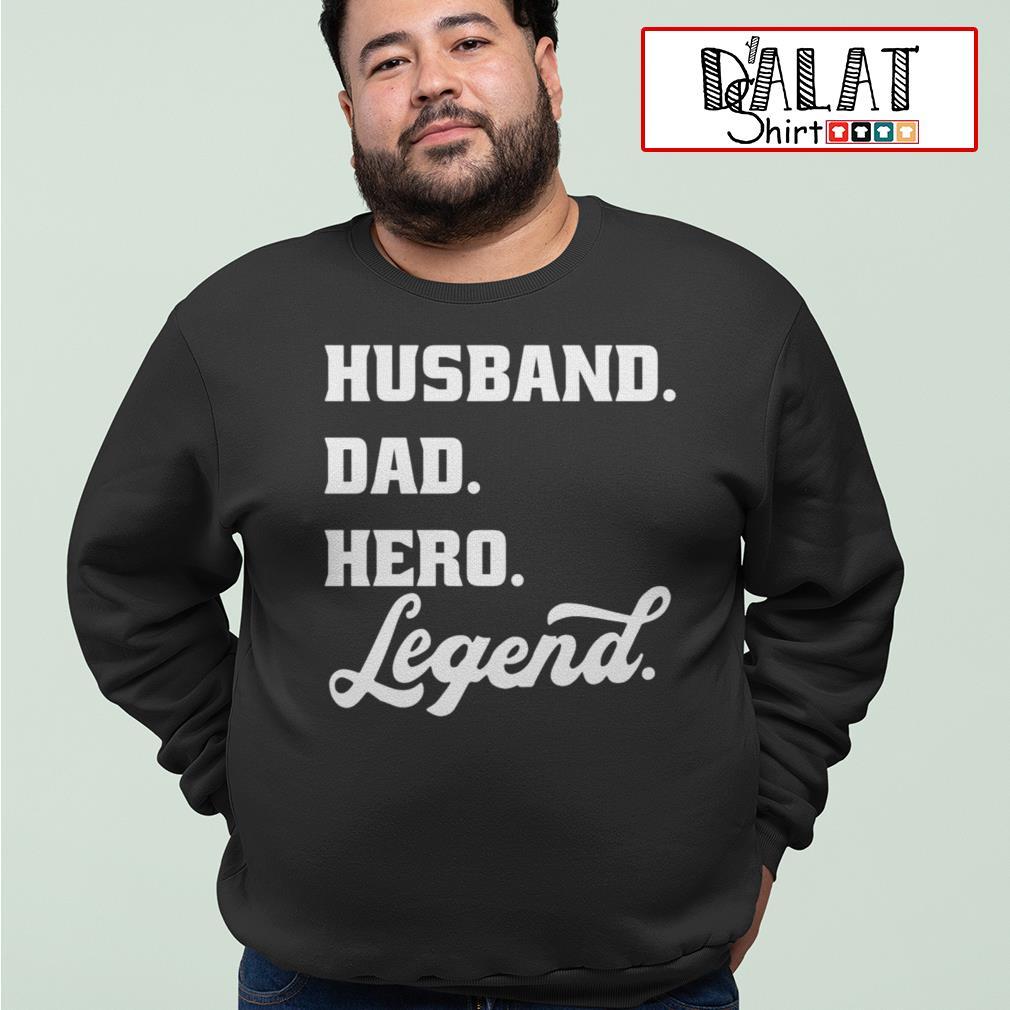 Husband dad hero legend Sweater
