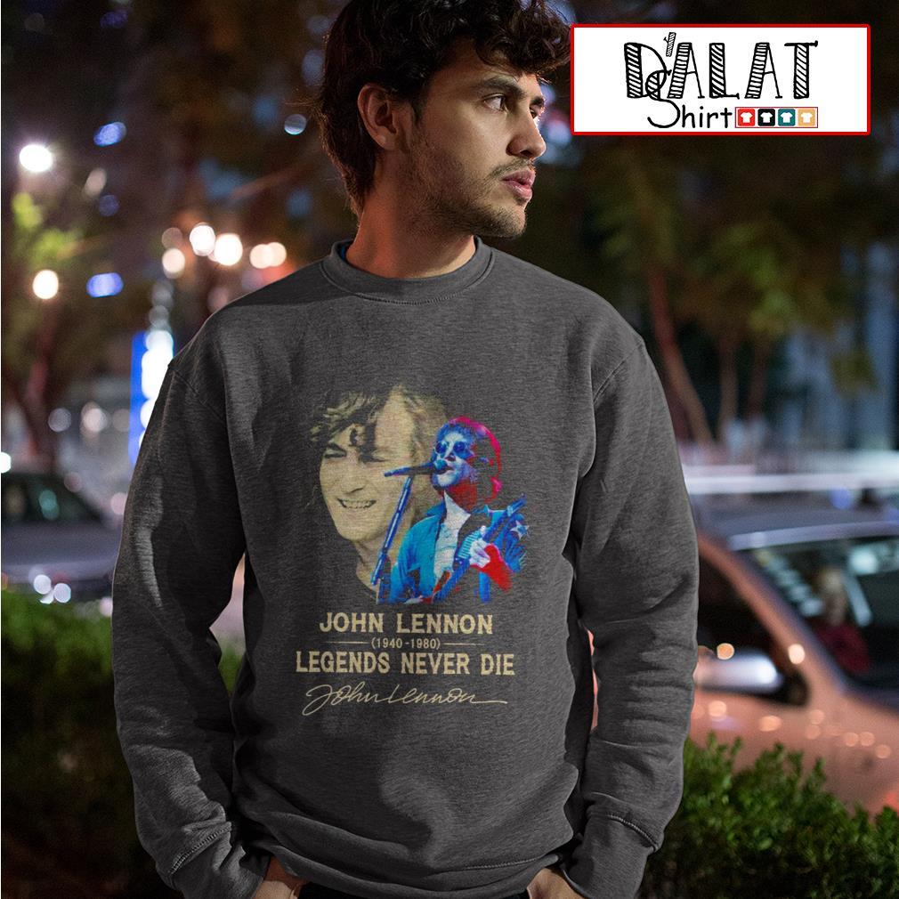 John Lennon 1940-1980 legends never die Sweater