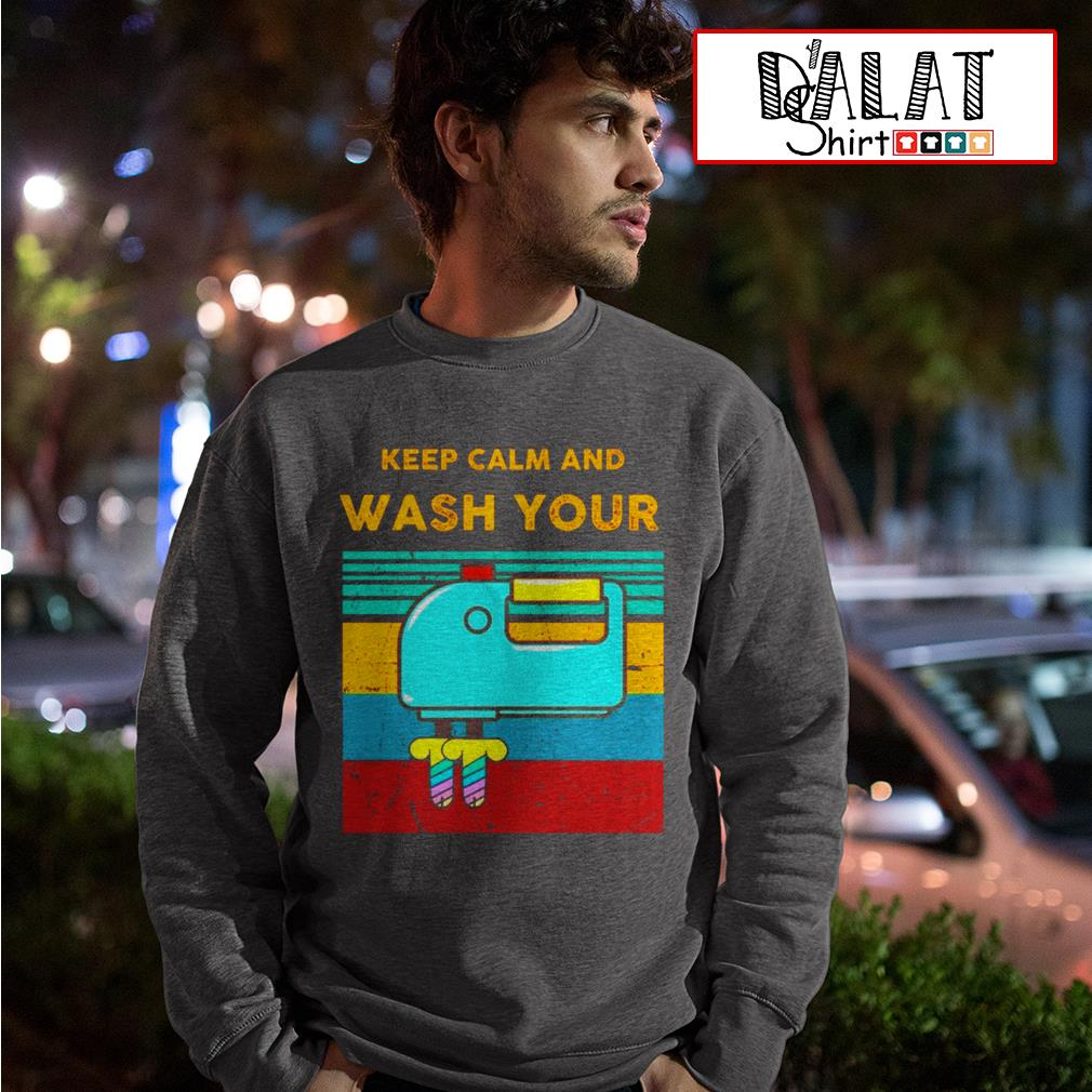Keep calm and wash your Sweater