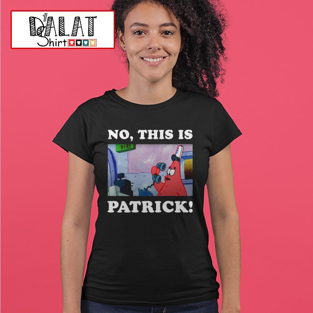 No this is patrick Ladies tee