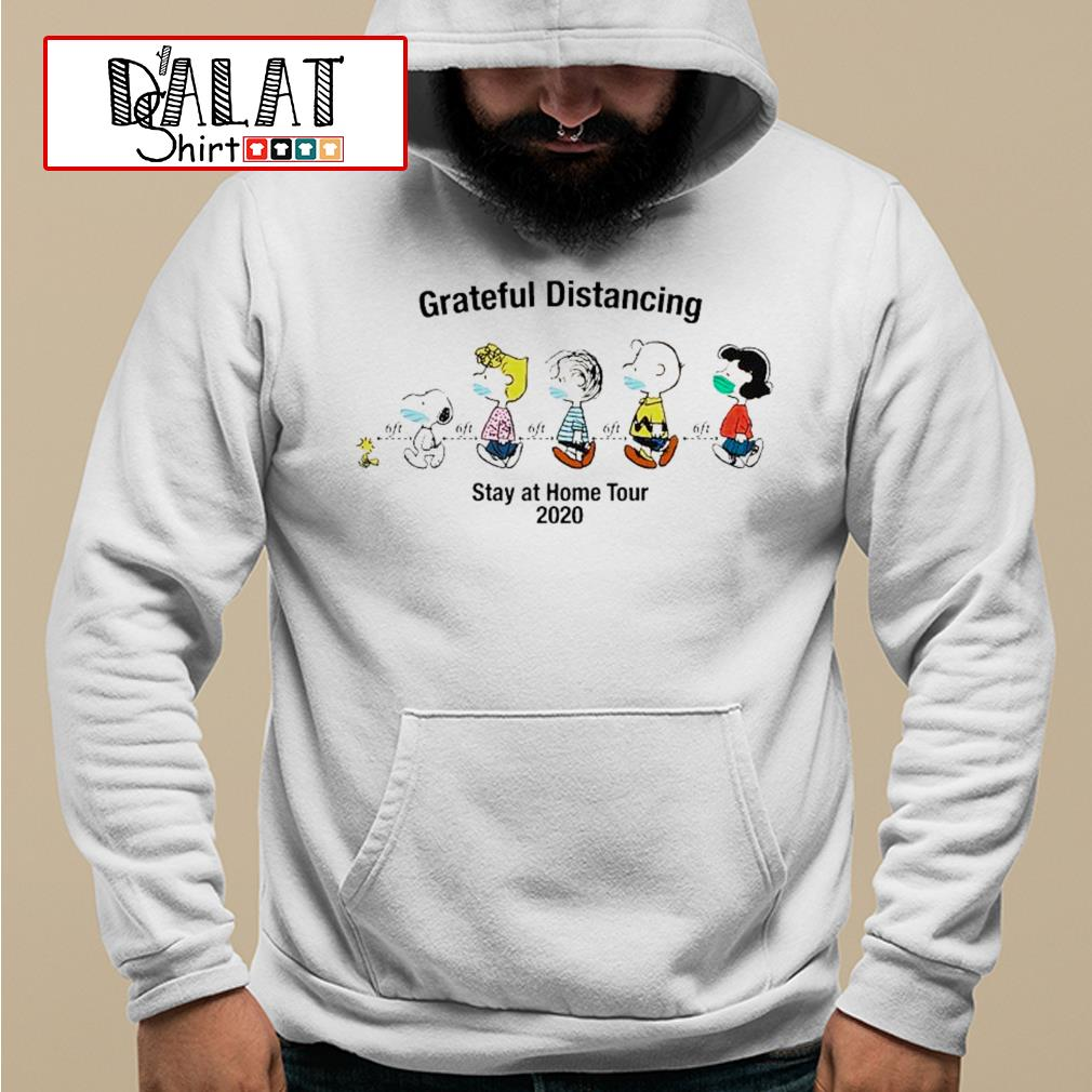 The Peanut maks Grateful Distancing stay at home tour 2020 Hoodie