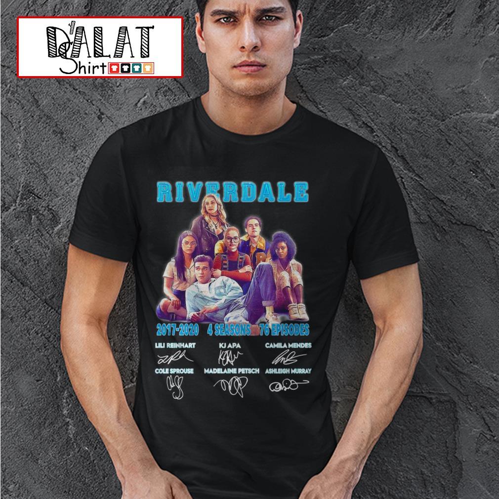 Riverdale 2017 2020 4 seasons 76 episodes signatures shirt
